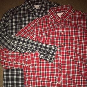 Flash sale!! Aeropostale button up 2 for $25 OBO